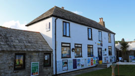 Exterior of Swanage Information Centre