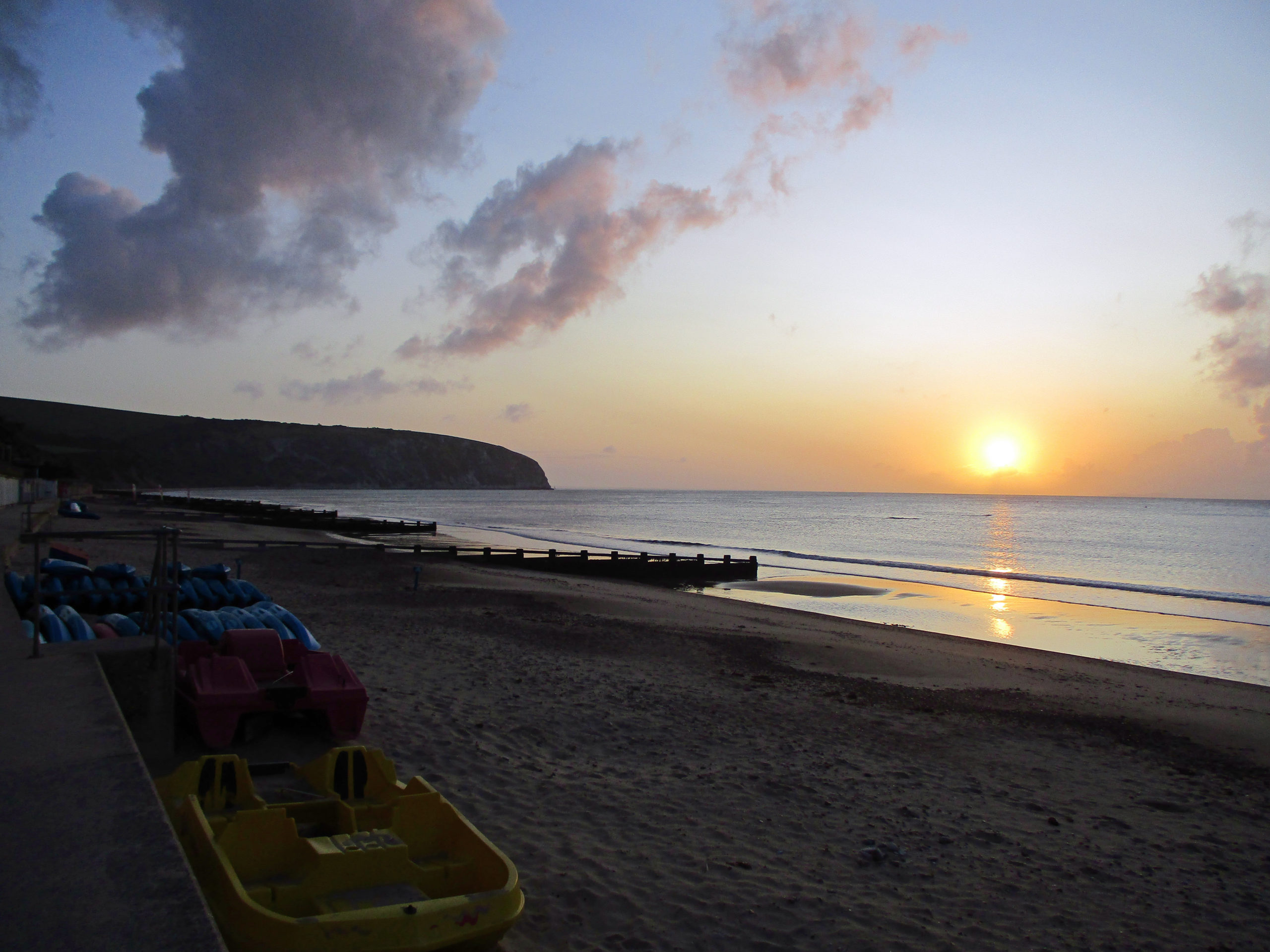 Sunrise in Swanage
