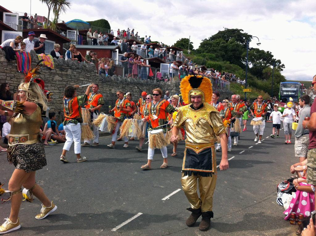 Swanage Carnival parade