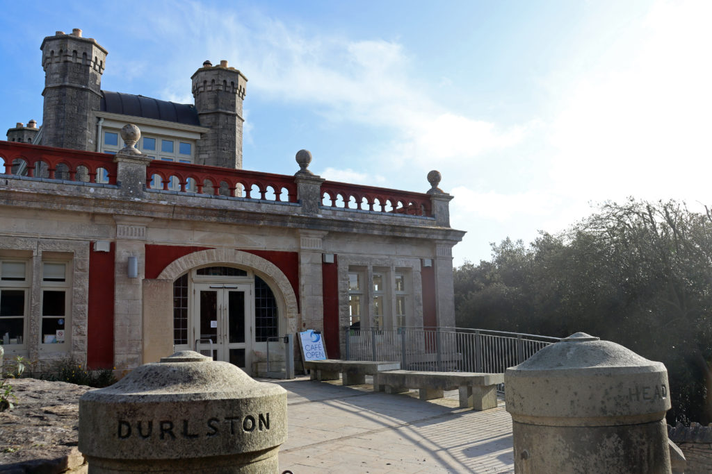 Exterior of Durlston Castle