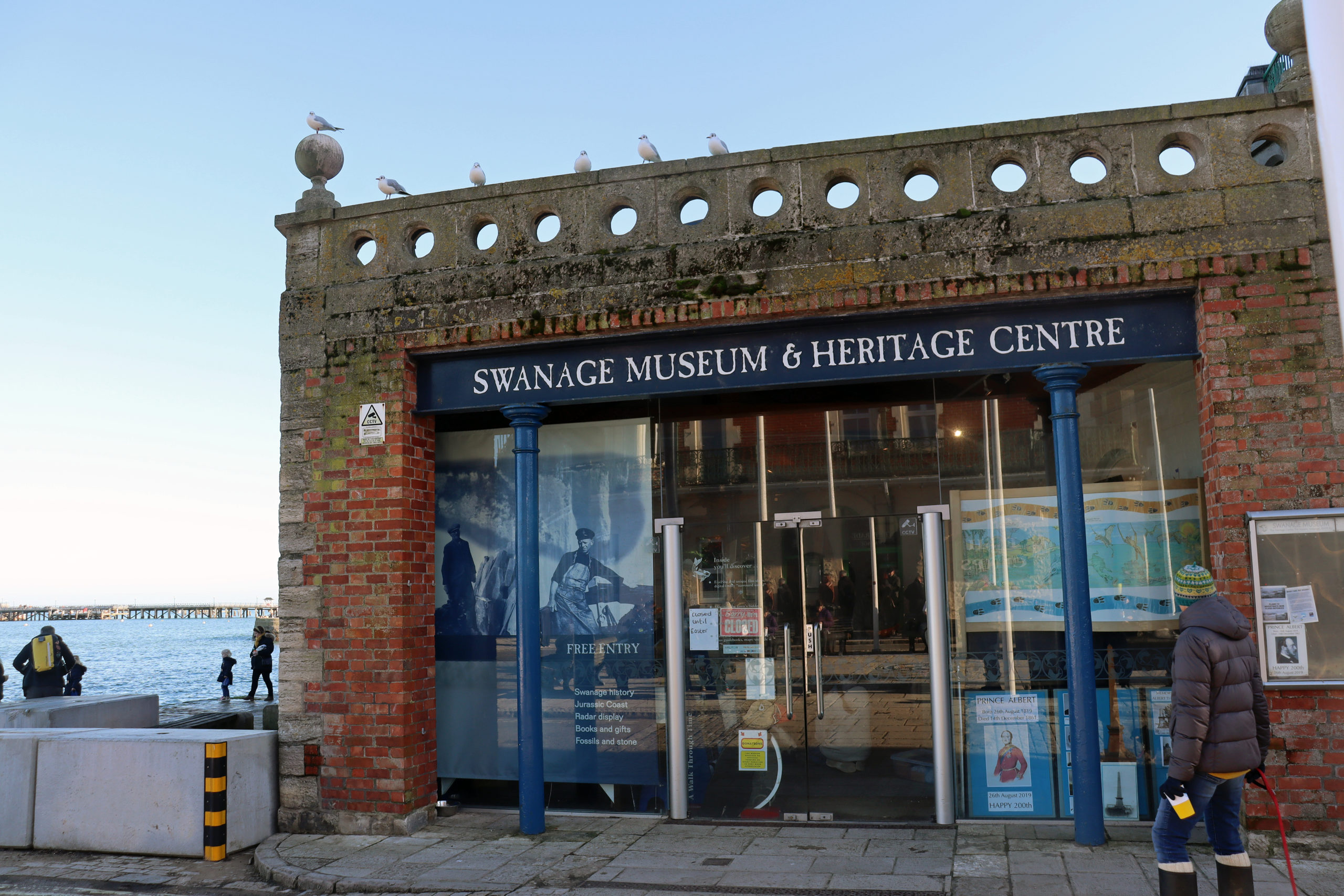 Exterior of Swanage Museum