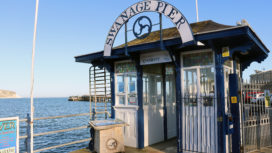 Swanage Pier entrance