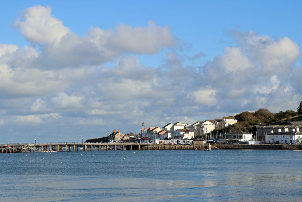 Pier and sailing club