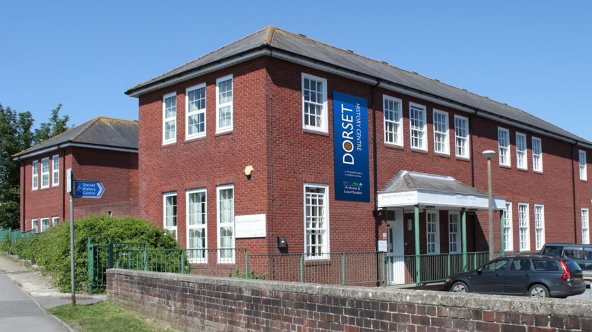 Exterior of the Dorset History Centre