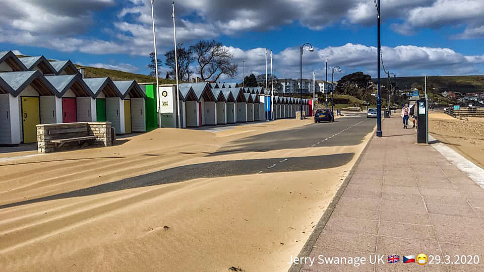 Sand on Shore Road