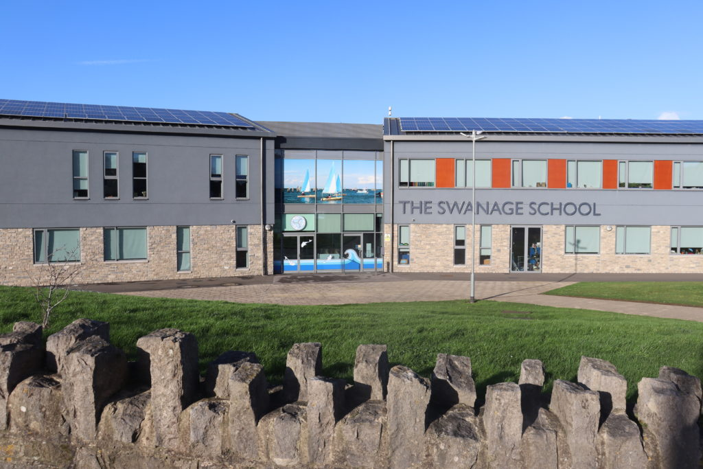 Exterior of The Swanage School