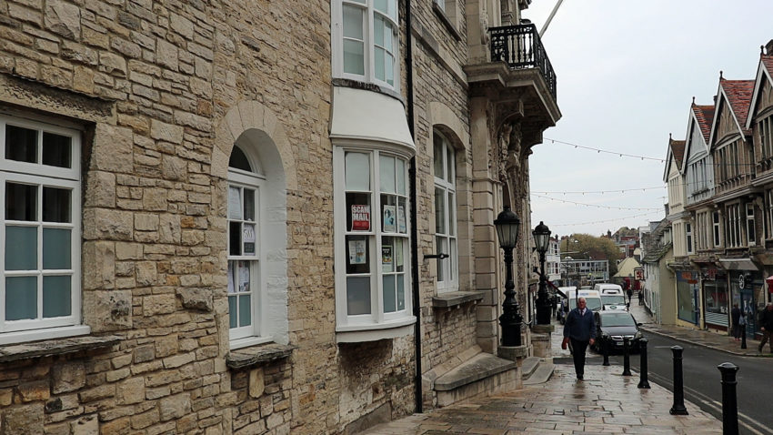 Exterior of Swanage Town Hall