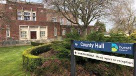 Exterior of Dorset Council offices