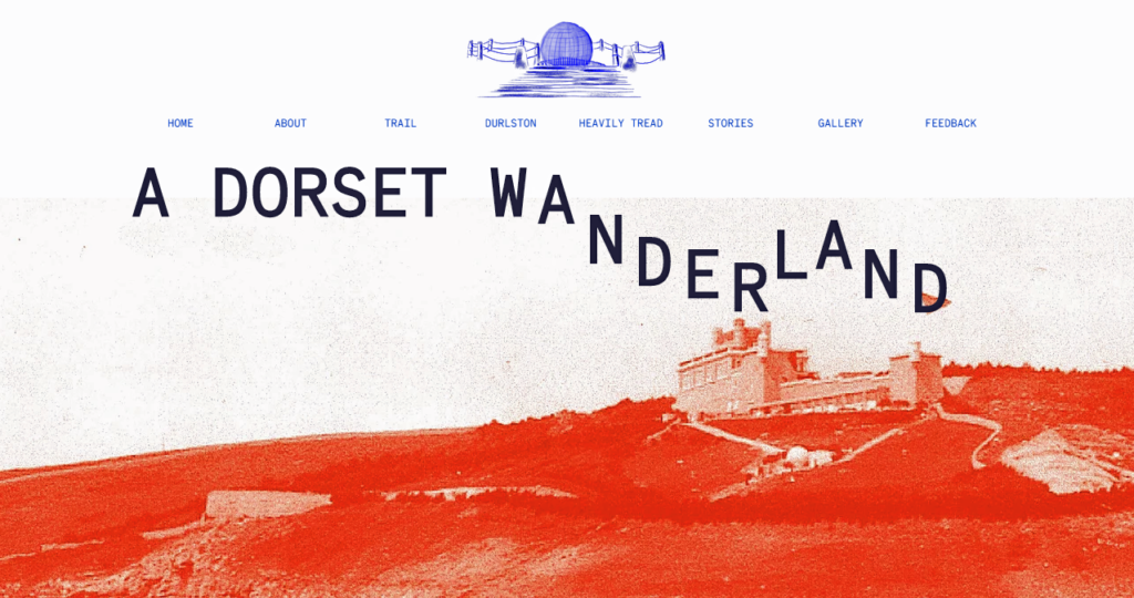 Homepage of A Dorset Wanderland website