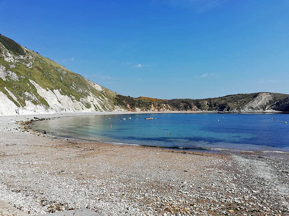 Easter Saturday at Lulworth Cove