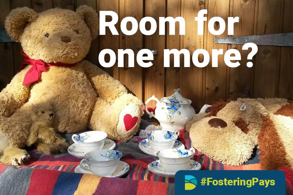 Dorset Council foster carer poster