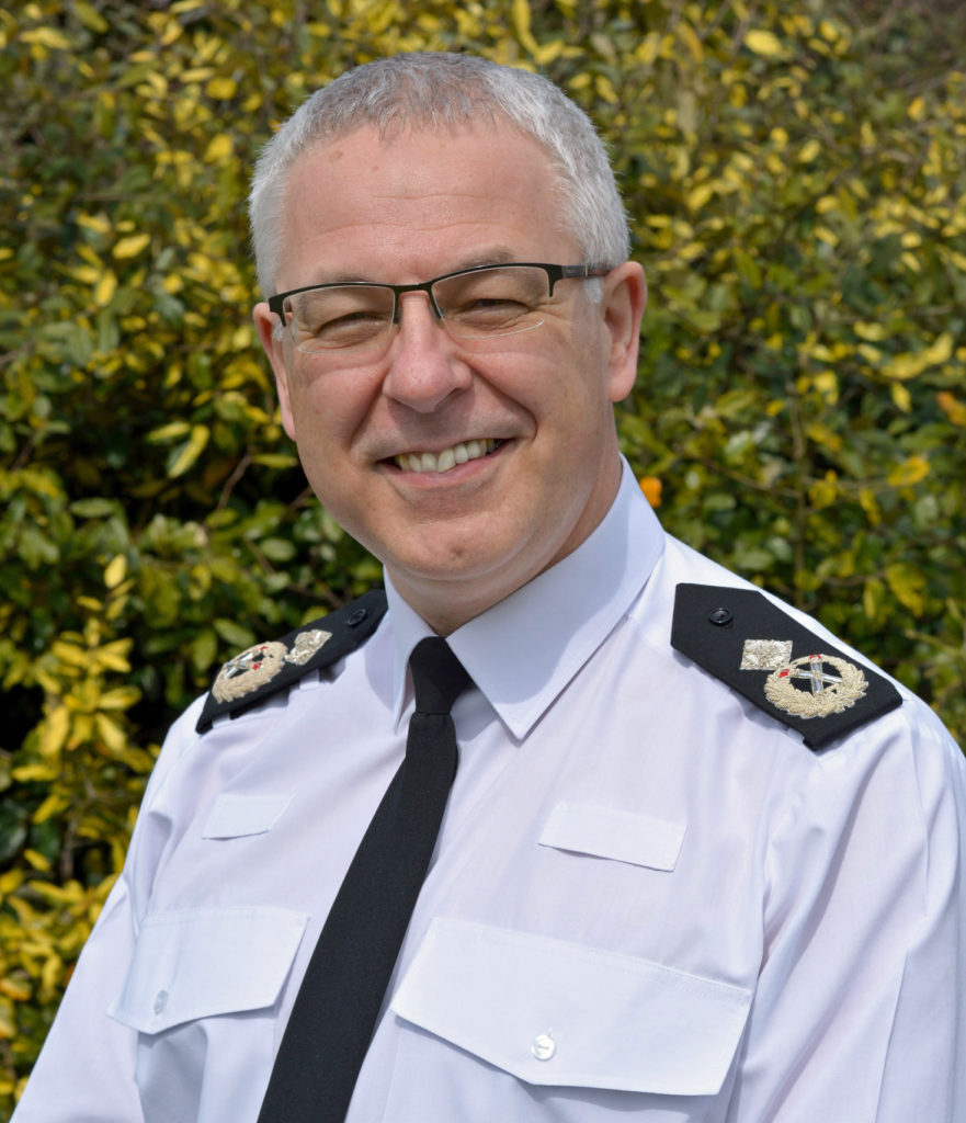 Deputy Chief Constable, David Lewis of Dorset Police