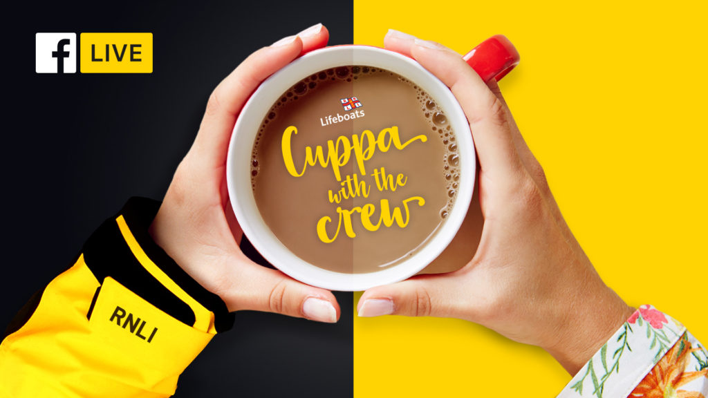 Cuppa with the crew poster