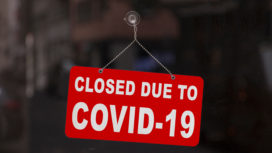 Shop closed sign