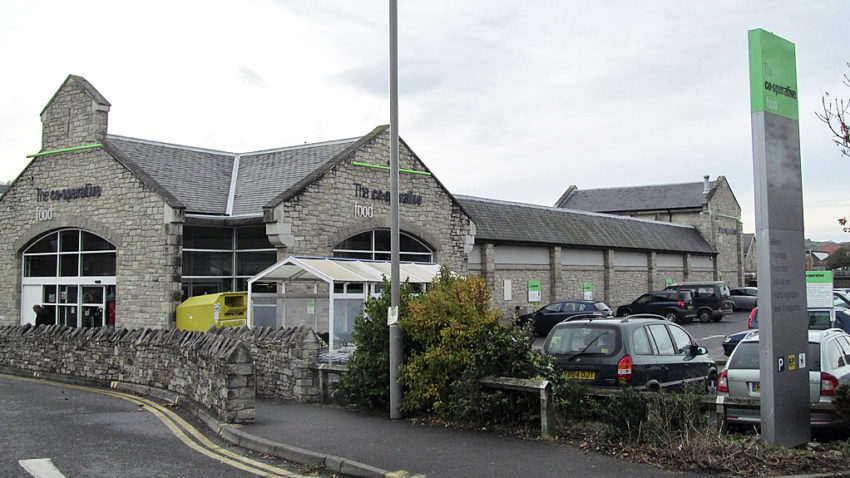 External shot of Swanage Co-op