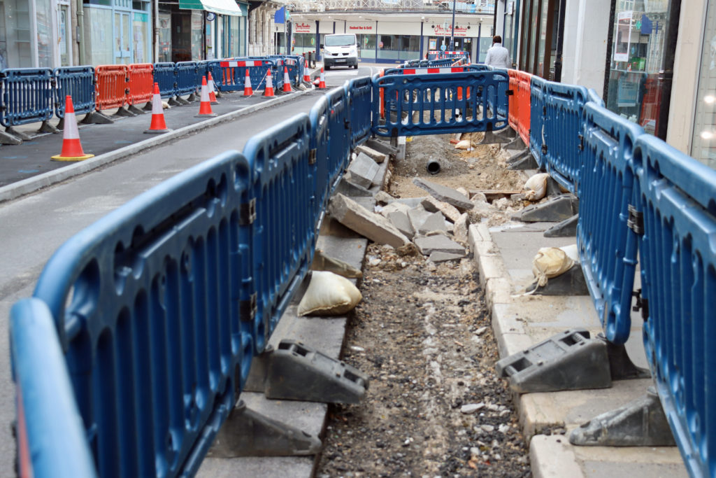 Pavement to be completed in Institute Road