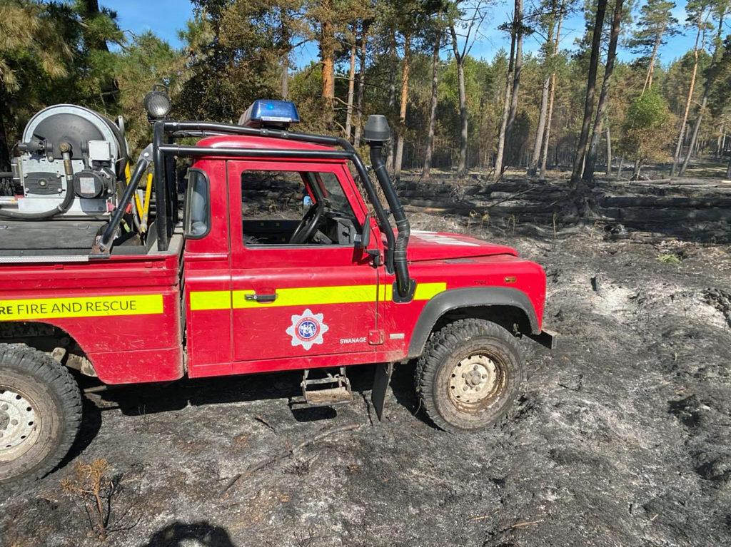 Swanage Fire crew
