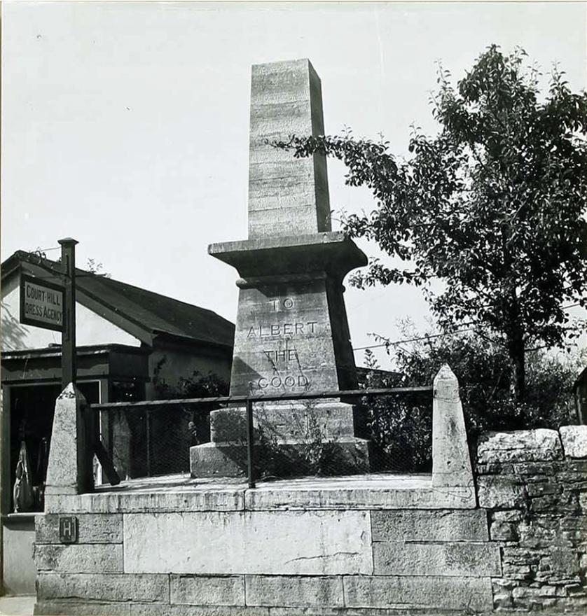 Albert Memorial winter 1943-44