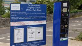 Broad Road car park payment machine