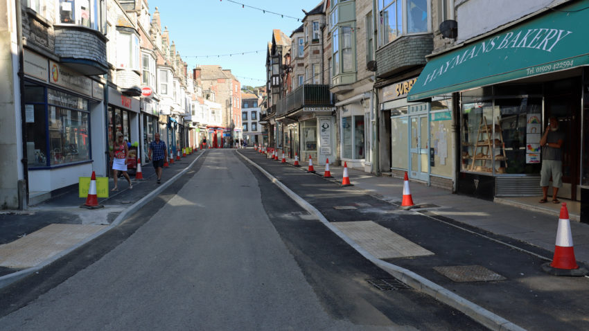 Institute Road roadworks nearing completion