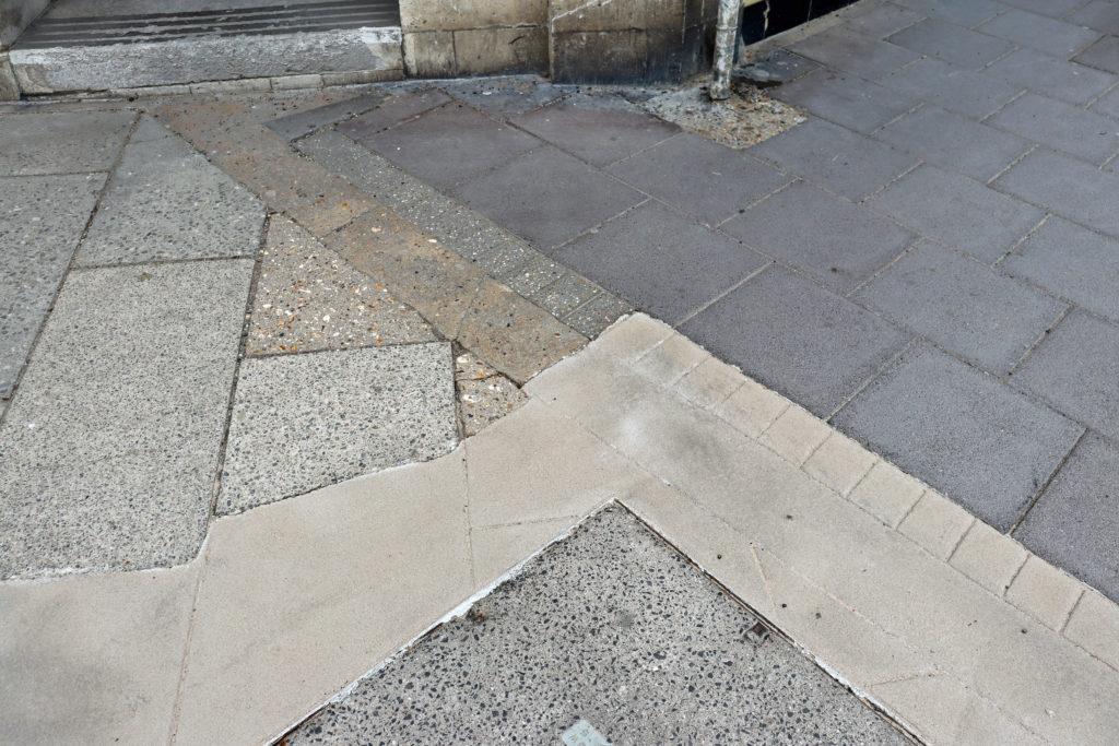 Institute Road pavement