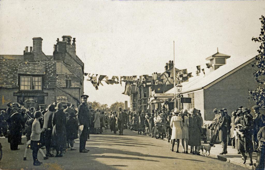 Opening of Swanage British Legion 1931