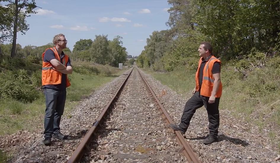 Josh Voce interviews Nick Lloyd about Swanage Railway