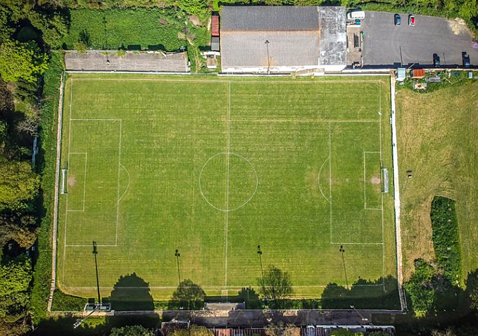 Swanage Town and Herston football club's pitch