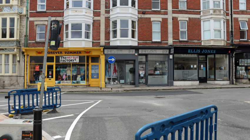 Junction of the High Street and Kings Road East