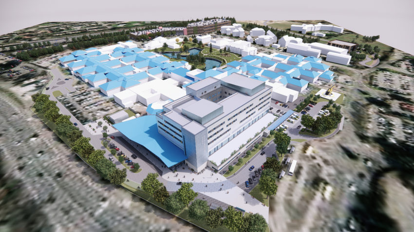 RBH artist impression of the new site