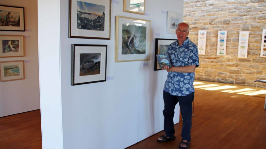 Tony Kerins at the Fine Foundation Gallery