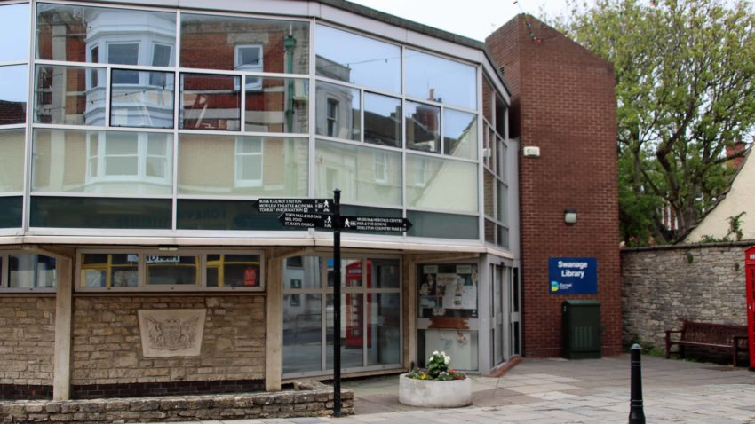 Exterior of Swanage Library
