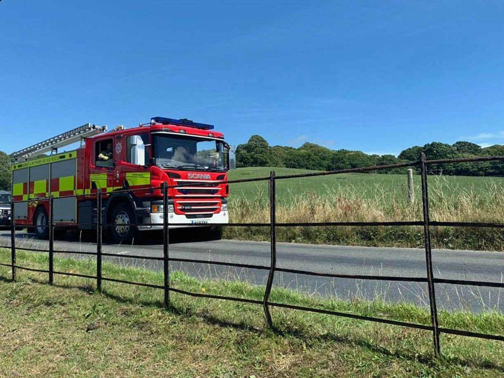 Wareham Fire Engine