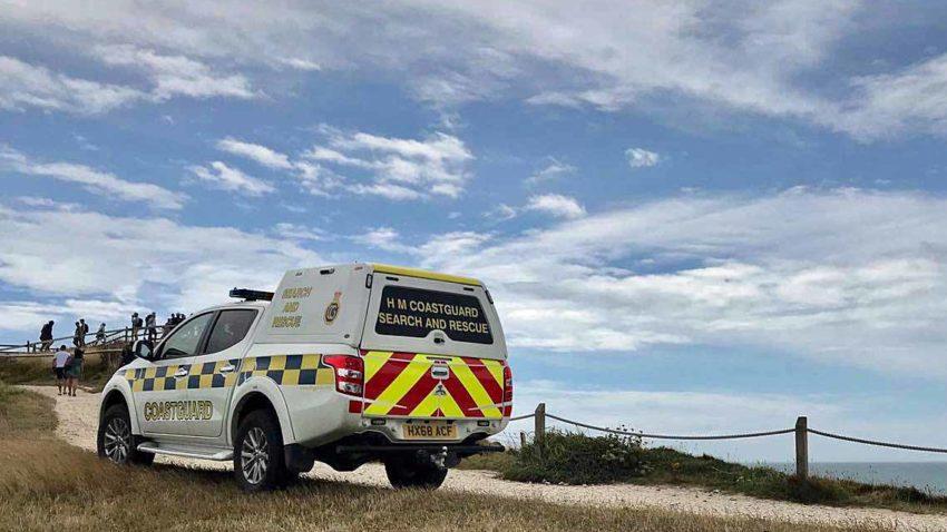 Lulworth coastguard vehicle