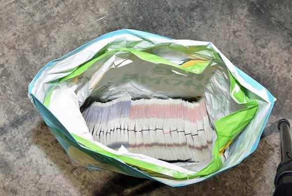 Money found in drugs raid by Dorset Police