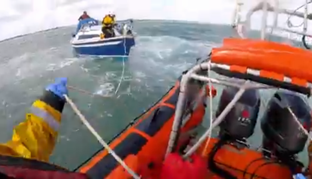 Poole RNLI rescue yacht