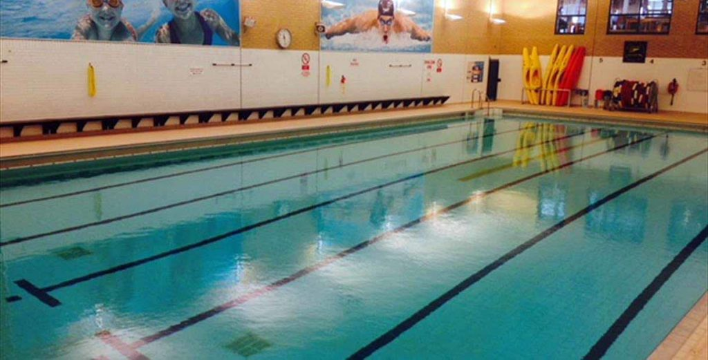 Swimmin Pool at Purbeck Sports Centre