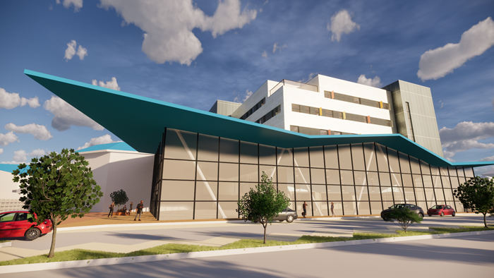 RBH artist impression of new buildings