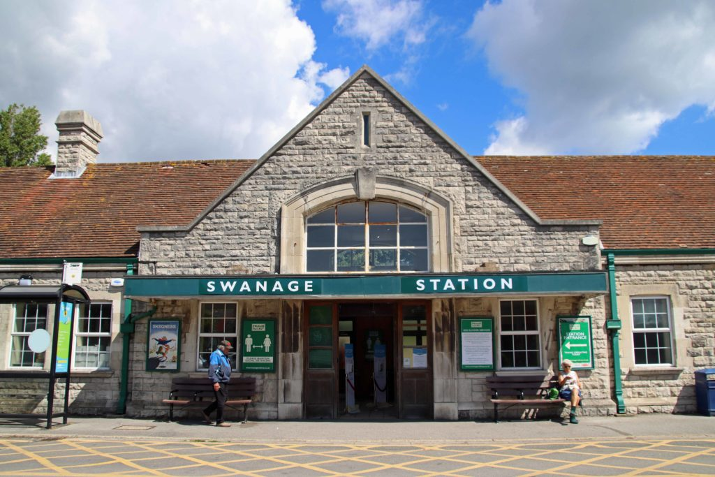 Exterior of Swanage Railway Station