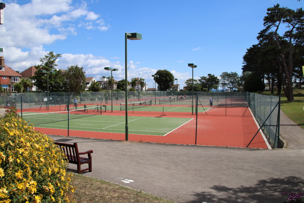 Tennis Courts at Beach Gardens