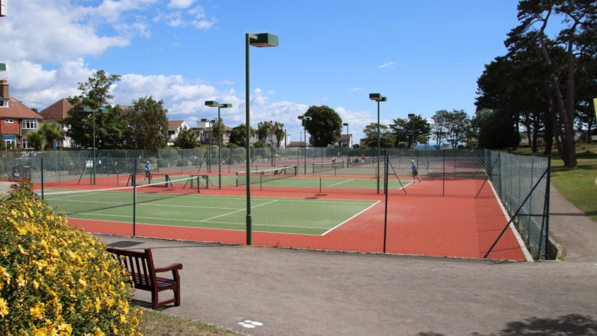 Tennis Courts at Beach Gardens