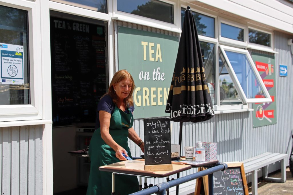 Tea on the Green cafe opens