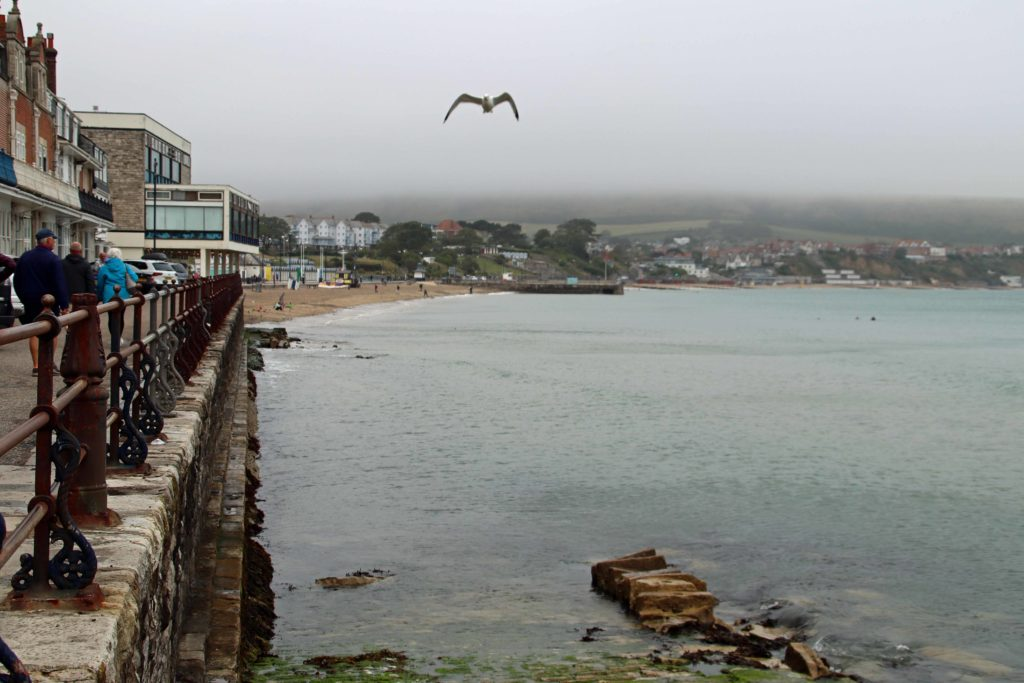 Swanage in the rain