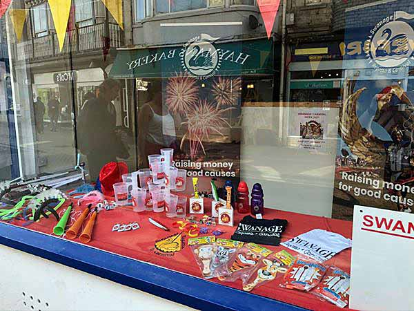 Swanage Carnival shop