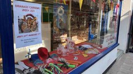 Exterior of Swanage Carnival shop
