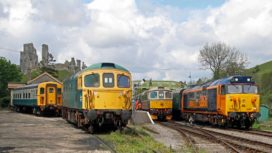 Swanage Railway diesel trains
