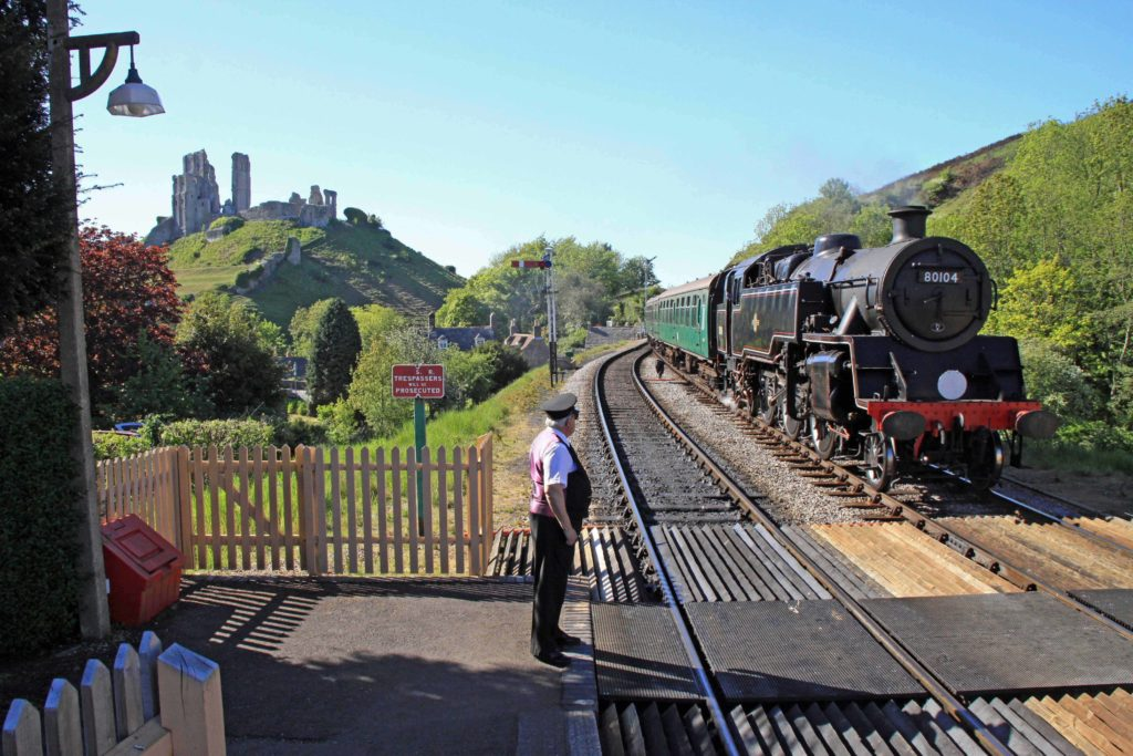 Swanage Railway steam train