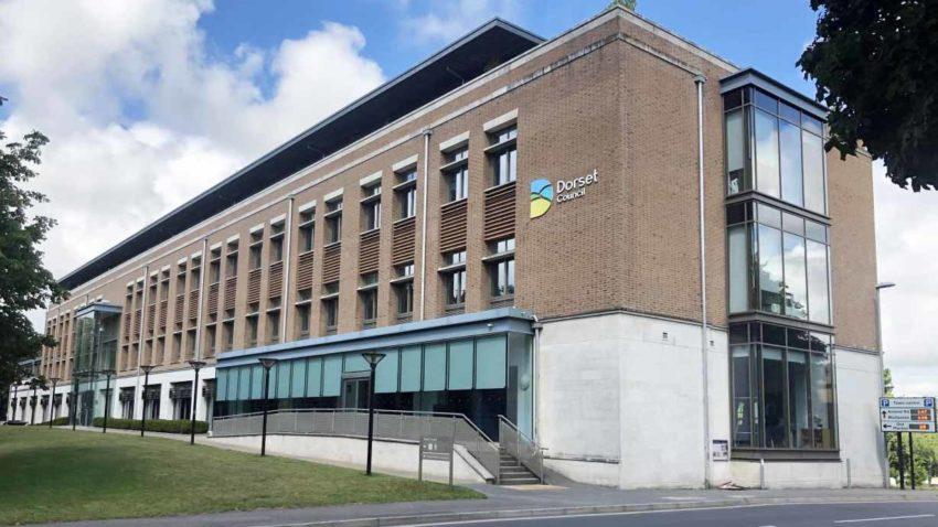 Exterior of Dorset Council building
