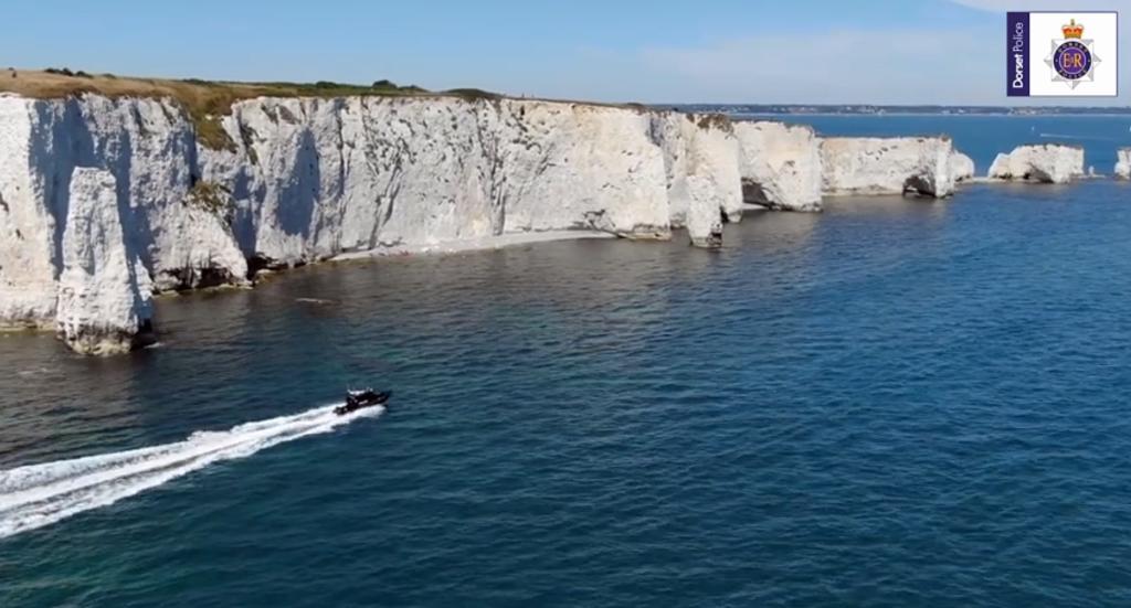 Dorset Police boat