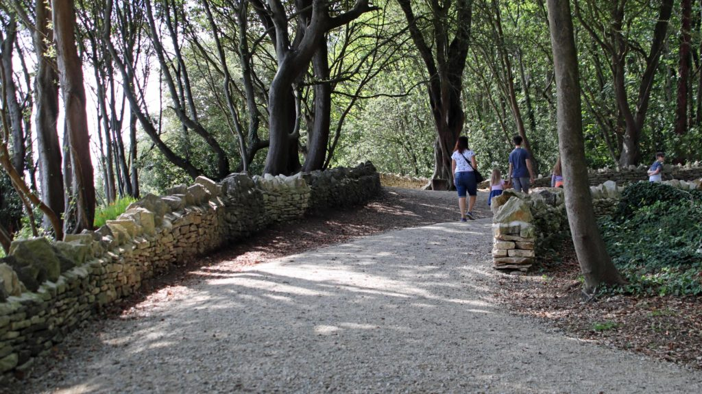 Newly relaid paths at Durlston Country Park